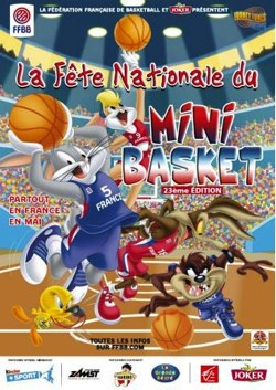 FÊTE NATIONALE DU MINIBASKET : LE PANIER D'OR