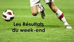 les resultats du week end