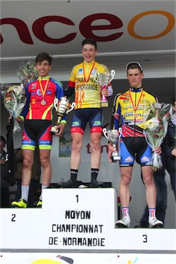 SIMON VERGER CHAMPION DE NORMANDIE 2016<br/>à moyon (50) le 22 mai 2016