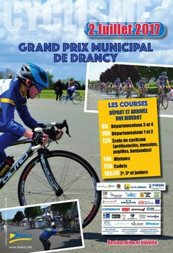 GRAND PRIX DE LA VILLE DE DRANCY 2017